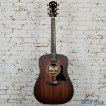 2017 Taylor 320e Special Edition Dreadnought Acoustic Electric Guitar Shaded Edgeburst