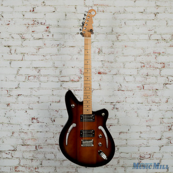 Reverend Airsonic RA Electric Guitar Coffee Burst 2727