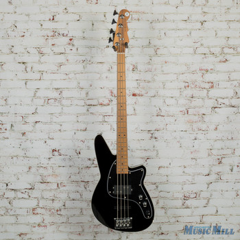 Reverend Decision 4-String Electric Bass Midnight Black 3570