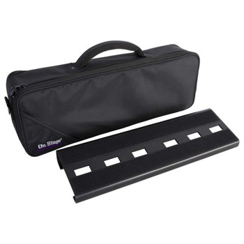 On‑Stage GPB2000 Compact Pedal Board With Gig Bag