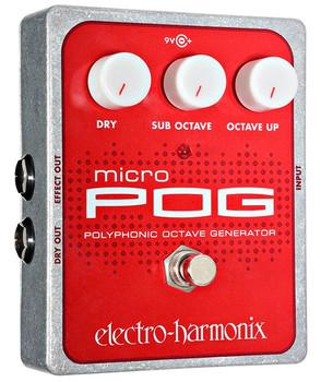 Electro-Harmonix Micro POG Polyphonic Octave Generator Effects Pedal