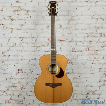 Ibanez AVM10NT Artwood Vintage Thermo Aged Series Acoustic Guitar