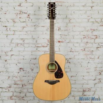 Yamaha FG820 12-String Dreadnought Acoustic Guitar- Natural
