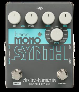 Electro-Harmonix Bass Mono Synth Synthesizer Pedal