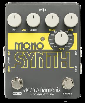 Electro-Harmonix Guitar Mono Synth Synthesizer Pedal