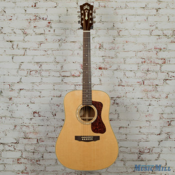 Guild D-140 Acoustic Guitar Natural MSRP $1,045
