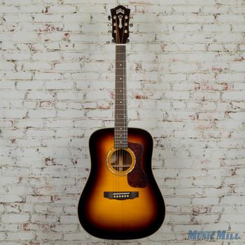Guild D-140 Dreadnought Acoustic Guitar Antique Sunburst MSRP $1,115