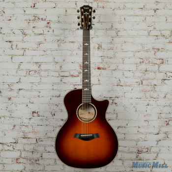 Taylor Limited Edition 614ce - Desert Sunburst w/ Quilted Maple Back & Sides (New and Discontinued)