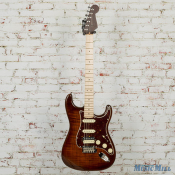 Fender Rarities Flame Maple Top Stratocaster Golden Brown 7157