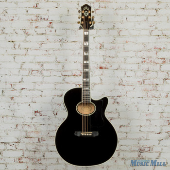 1996 Guild USA F65-CE Acoustic-Electric Black w/OHSC (USED)
