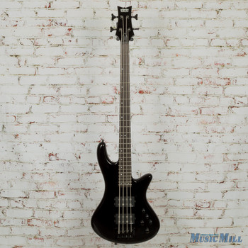 2017 Schecter Stiletto Stage 4 Electric Bass Black (USED)