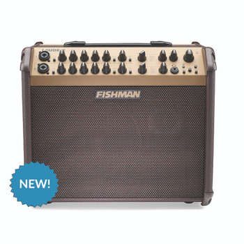 Fishman PRO-LBT-600 Bluetooth Acoustic Amp + FREE FT-2 TUNER AND SLIP COVER