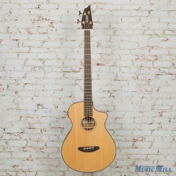 2019 Breedlove Pursuit Concert Bass Acoustic-Electric Bass Natural w/Bag