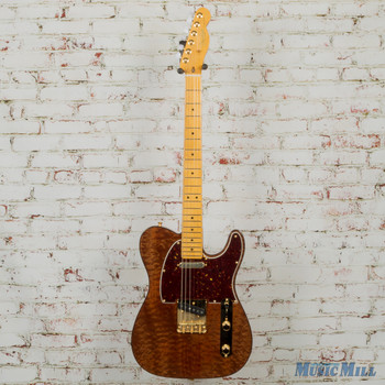 Fender 0176506821 Rarities Series Red Mahogany Top Telecaster x4791