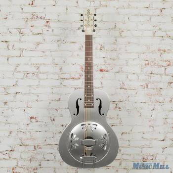 Gretsch G9201 Honey Dipper Round-Neck, Brass Body Biscuit Cone Resonator Guitar x1688