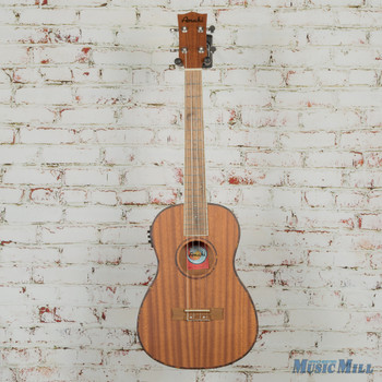 Amahi UK220B-EQ Baritone Mahogany Top, Back & Sides, Digital Tuner
