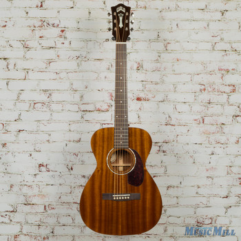 Guild M120E Westerly Series Concert Size Acoustic/Electric NATURAL-3841204821-MSRP $1,045 x