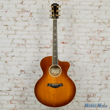 2005 Taylor 615CE Jumbo Acousticw/Fishman Pickup Maple w/OHSC (USED)
