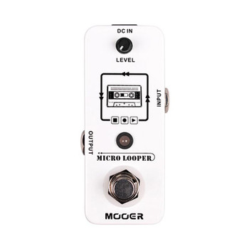 Mooer Micro Looper 30 Minute Loop Recording Guitar Effects Pedal