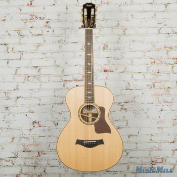 2018 Taylor 812e 12-Fret Grand Concert Acoustic Electric Guitar Natural