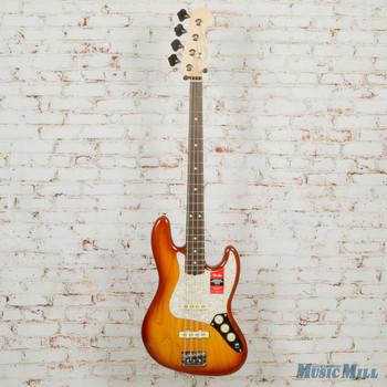 Fender Lightweight Ash American Professional Jazz Bass Sienna Sunburst x5471