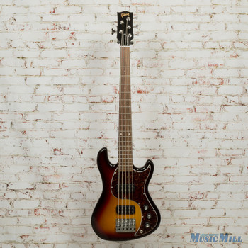 2013 Gibson 5-String EB Bass Fireburst Vintage Gloss w/OHSC