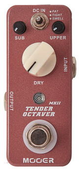 Mooer Tender Octaver MKII Precise Octave Pedal