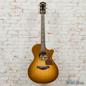 2016 Taylor 712ce Grand Concert Acoustic-Electric Guitar Western Sunburst - New Old Stock