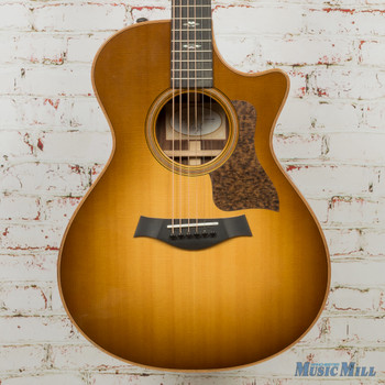 Taylor 712ce Grand Concert Acoustic-Electric Guitar Western Sunburst -(USED)