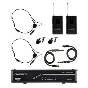 CAD PDW-LHG - PROformance Dual UHF Bodypack Wireless