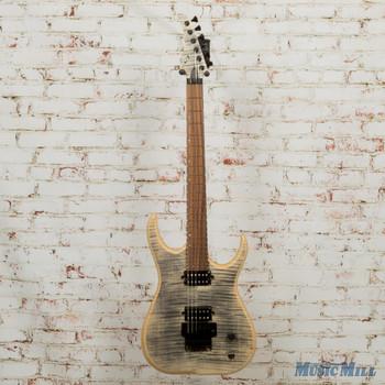 Skervesen Raptor 6 Electric Guitar Satin Flame Maple Top w/ Case (USED)