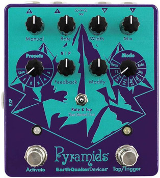 EarthQuaker Devices Pyramids Stereo Flange Pedal V1