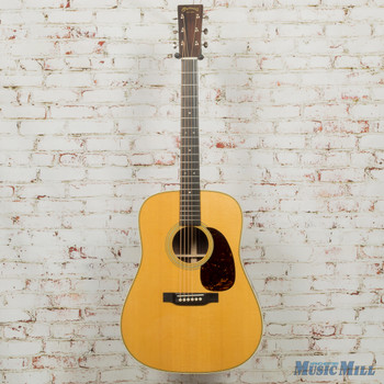 Martin Custom Shop HD-28 with Wildgrain Rosewood Back and Sides, Thin Finish (Demo)