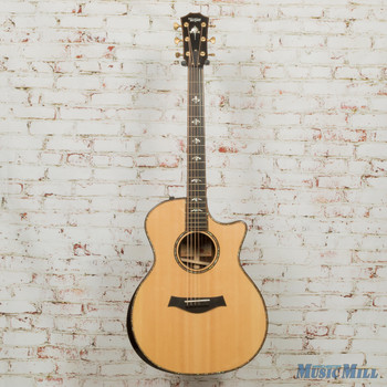 2018 Taylor 914ce V-Class Acoustic Electric Guitar Natural (Demo)