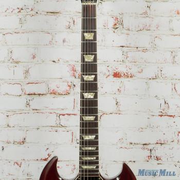 1971 Gibson SG Standard - Cherry - Headtock Repair w/HSC (USED)