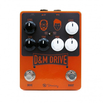 Keeley D&M Drive and Boost Effects Pedal