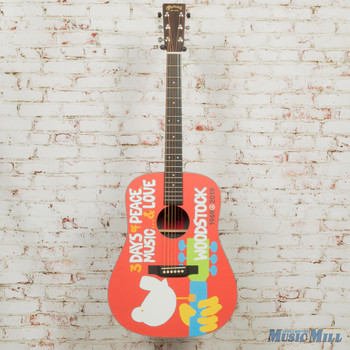 Martin DX Woodstock 50th Anniversary Acoustic Guitar