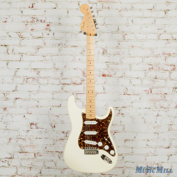 1991 Fender Custom Shop '68 Stratocaster Reverse Headstock Olympic White w/OHSC (USED)