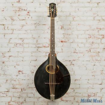 Vintage Gibson 1917 K2 Mandocello Black (USED)