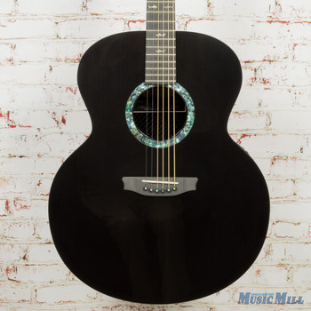 Rainsong JM1000N2 Left-Handed Acoustic Electric Guitar with LR Baggs Stagepro Element