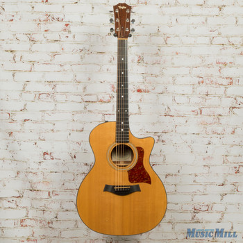 2006 Taylor 314CE Grand Auditorium Spruce/Sapele Acoustic-Electric w/HSC (USED)