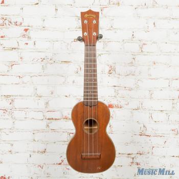 Vintage Martin Style 1 Soprano Ukulele Mahogany w/ Case (USED)