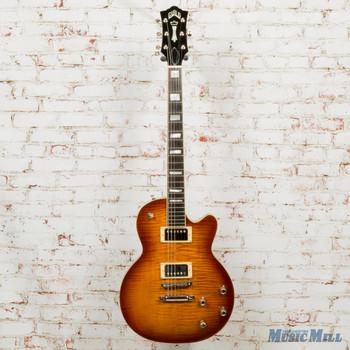 2018 Guild Bluesbird Iced Tea Burst Electric Guitar w/HSC (USED)