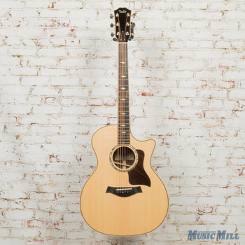 2017 Taylor 814ce V-Class Grand Auditorium Cutaway - Natural Sitka Spruce Top x7025 (USED)