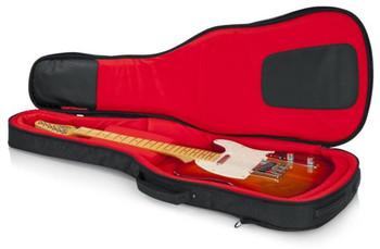 Gator Transit Series Gig Bag - Electric Guitar - Charcoal Black