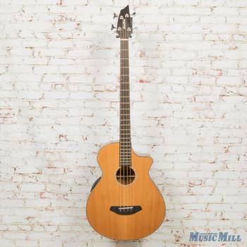 2019 Breedlove B-Stock Solo Jumbo Bass CE Red Cedar - Ovangkol AE Bass Guitar