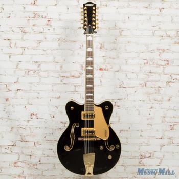 Gretsch G5422G-12 Electromatic Hollowbody 12-String Electric Guitar Black x3394