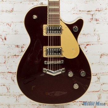 Gretsch G6228 Players Edition Jet BT With V-Stoptail, Rosewood Fingerboard, Dark Cherry Metallic