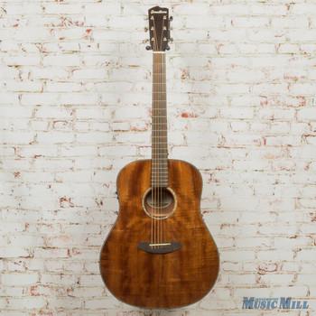 2015 Breedlove B-Stock Pursuit Dreadnaught E Acoustic Guitar Mahogany