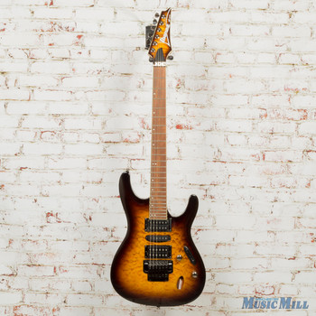 Ibanez S670QM - Dragon Eye Burst